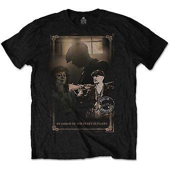 Peaky Blinders Schrotflinte offiziellen T-Shirt T-Shirt Herren Unisex