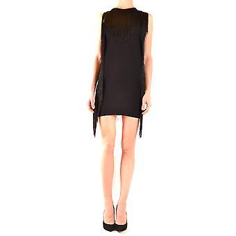 Aniye von Ezbc098014 Frauen's schwarze Viskose Kleid
