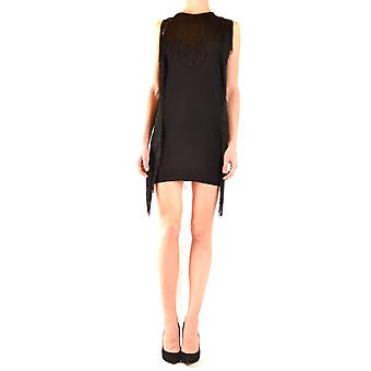 Aniye Door Ezbc098014 Women's Black Viscose Dress