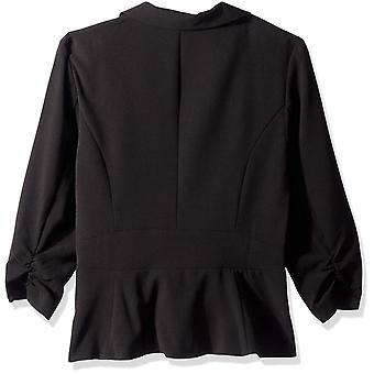 A. Byer Junior's One Button Blazer, Black, S, Black, Size Small