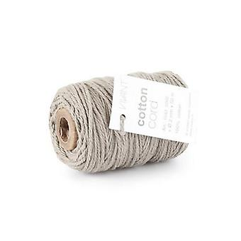 Vivant Cord Cotton fine grey - 50m x 2mm