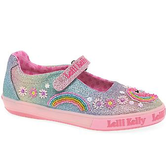 Lelli Kelly Rainbow Unicorn Dolly Girls Infant Canvas Chaussures