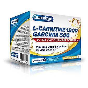 Quamtrax Nutrition L-Carnitine + Garcinia 20 Ampoules