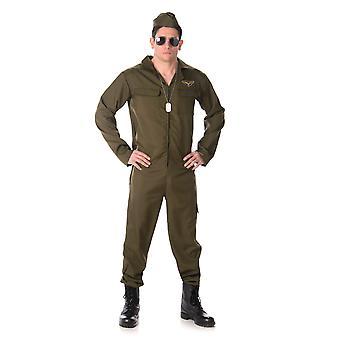 Déguisement pilote de chasse complet homme