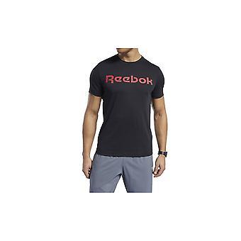 ריבוק GS רי ליניארי טי FP9164 אוניברסלי כל השנה גברים חולצת טריקו
