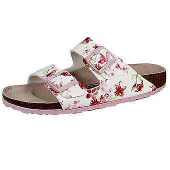 Birkenstock arizona bs women's blossom white sandals