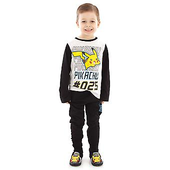 pokemon pikachu karakter gutt's barn's pyjamas nattøy