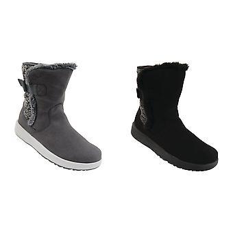 Tør 2B kvinners/damer Morzine snø støvler
