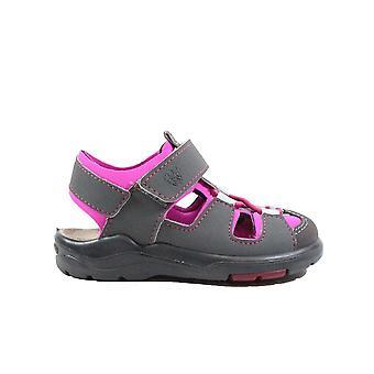 Ricosta Gery 3320100-471 Grijs/Roze Meisjes gesloten in sandalen