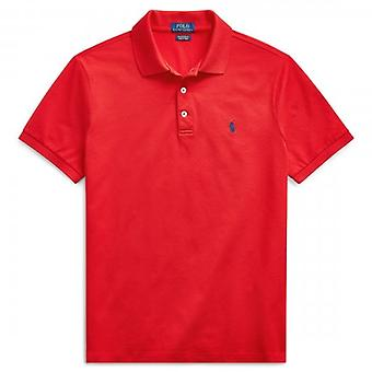 Polo Ralph Lauren Ralph Polo Rosso Rosa Short Sleeve Slim Fit Polo T-Shirt 710536856