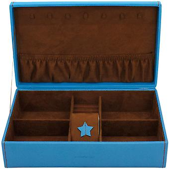 Friedrich leather jewelry case jewelry box BACCARAT Blue Watch specialist