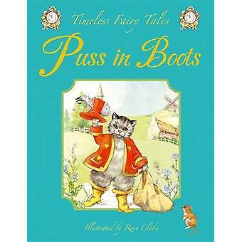 Puss in Boots door geïllustreerd door Rene Cloke