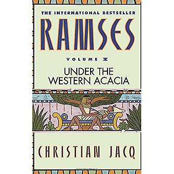 Under the Western Acacia by Christian Jacq - 9780446673600 Book