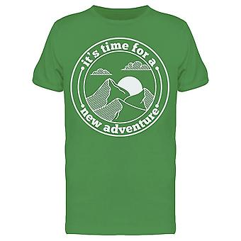 Is A New Adventure Tee Men's -Image by Shutterstock