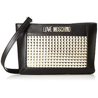 Love Moschino Calf Pu Women's shoulder bag (Gold) 3x16x26 cm (W x H x L)(1)