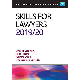 Skills for Lawyers 2019/2020 by Annabel Elkington - 9781913226060 Book