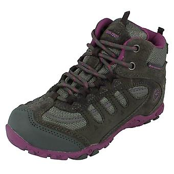 Girls Hi Tec Waterproof Ankle Boots Penrith Mid WP JRG