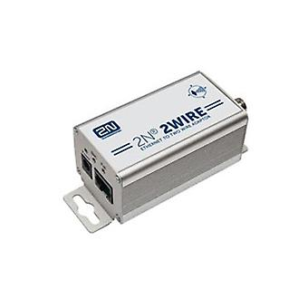 2N 2Wire Ip To Ip Poe Extender Kit Set Of 2X Adaptors And Power Source