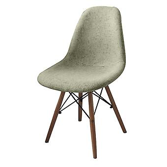 Rania Color Beige chair, PP wood, Fabric, Wood 42x49x81 cm
