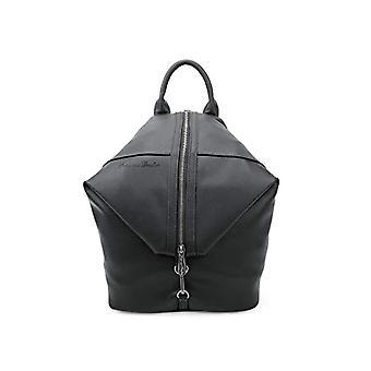 Fritzi aus Preussen Marit Reloaded - Black Women's Backpack Bags (Black) 13x26x31 cm (W x H L)(1)