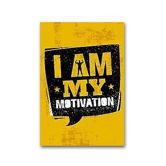 I Am, My Motivation Poster -Image door Shutterstock