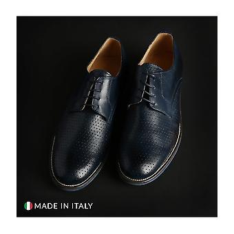 SB 3012 - shoes - lace-up shoes - 06_CRUST-B_JEANS - men - navy - EU 40