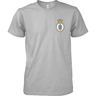 HMS Middleton - nuværende Royal Navy skib T-Shirt farve