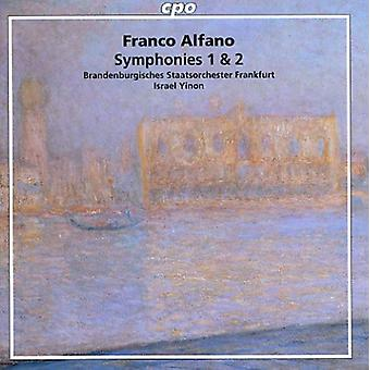 F. Alfano - Franco Alfano: Symphonies 1 & 2 [CD] USA import