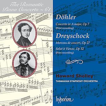 Howard Shelley - The Romantic Piano Concerto, Vol. 61: D Ler, Dreyschock [CD] USA import