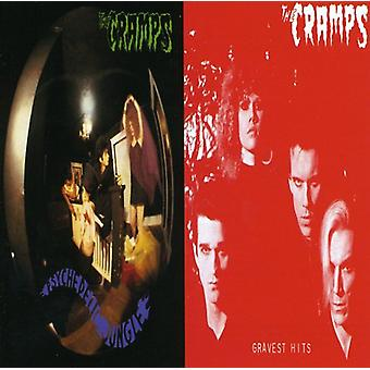 Cramps - Psychedelic Jungle/Gravest Hit [CD] USA import