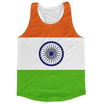 India Flag Running Vest