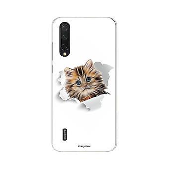 Hull For Xiaomi Mi 9 Lite Myk Søt Katt