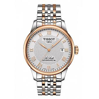 Tissot Watches T006.407.22.033.00 Le Locle Powermatic 800 Automatic Silver And Rose Gold Men's Watch