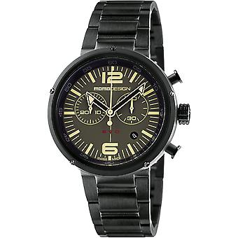 MOMO Design EVO Watch MD1012BR-30 - Plated Stainless Steel Gents Quartz Chronograph
