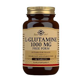 L-Glutamine 60 tablets of 1000mg