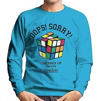 Rubik's oops sorry ik messed up mannen Sweatshirt