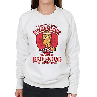 Garfield dårlig humør lik øvelse kvinner ' s Pullover