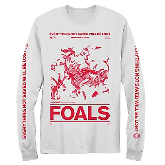 Foals Floral Album Box Men's Long Sleeve T-Shirt