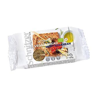 Pão fermentado com arroz mediterrâneo sem glúten 125 g