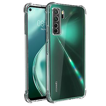 Coque Huawei P40 Lite 5G Souple Angles renforcés Akashi Transparent