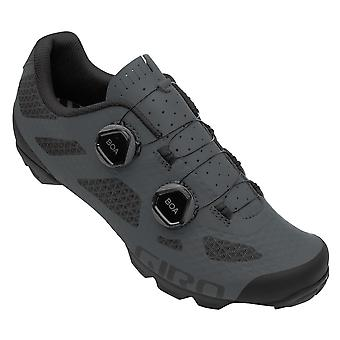 Giro Sector Mtb Cycling Shoes 2020: Black/dark Shadow 42