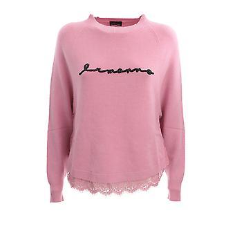 Ermanno Scervino Mg47vis421 Women's Pink Viscose Sweater