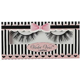 Violet Voss Cosmetics Premium 3D Faux Mink Lashes - Wispy My Name - Drama Effect
