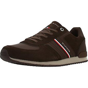 Tommy Hilfiger Sport / Iconic Suede Runner Color Gt6coa Sneakers