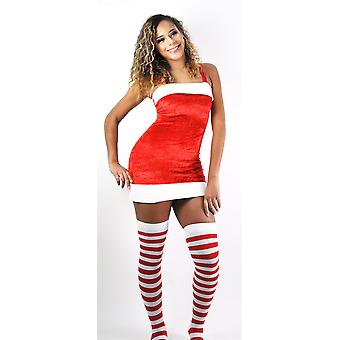 Kvinder & apos;s Square Neck julefrokostCostume Bodycon Mini Dress