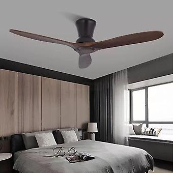 Wooden Ceiling Fan With Lights For Home, Hotels