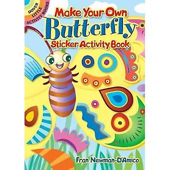 Make Your Own Butterfly Sticker Activity Book by NewmanDAmico & Fran