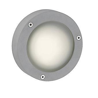 Firstlight Outdoor - 1 Licht Outdoor Wandlicht Aluminium, Frostglas IP44