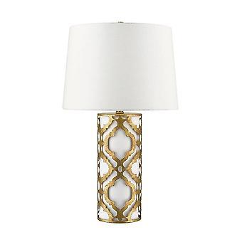 1 Lampa stołowa złota, E27