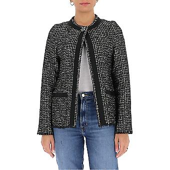 Semi-couture Y0wv11chn03 Women's Black Wool Outerwear Jacket